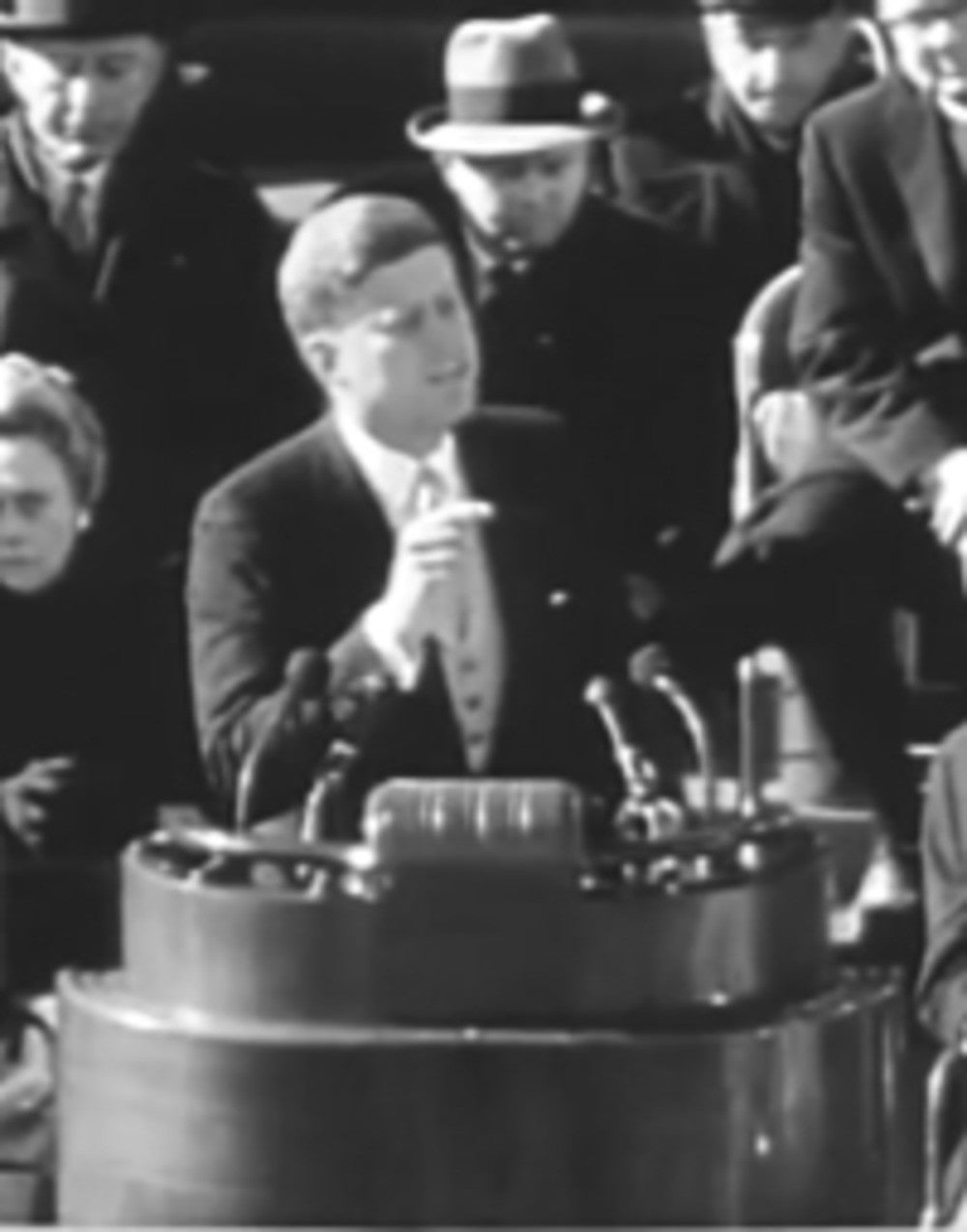 john f. kennedy inaugural address. 2