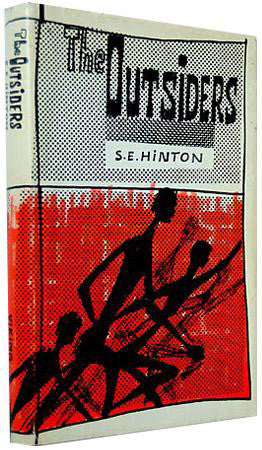 the outsiders, signed 1st edition. 1