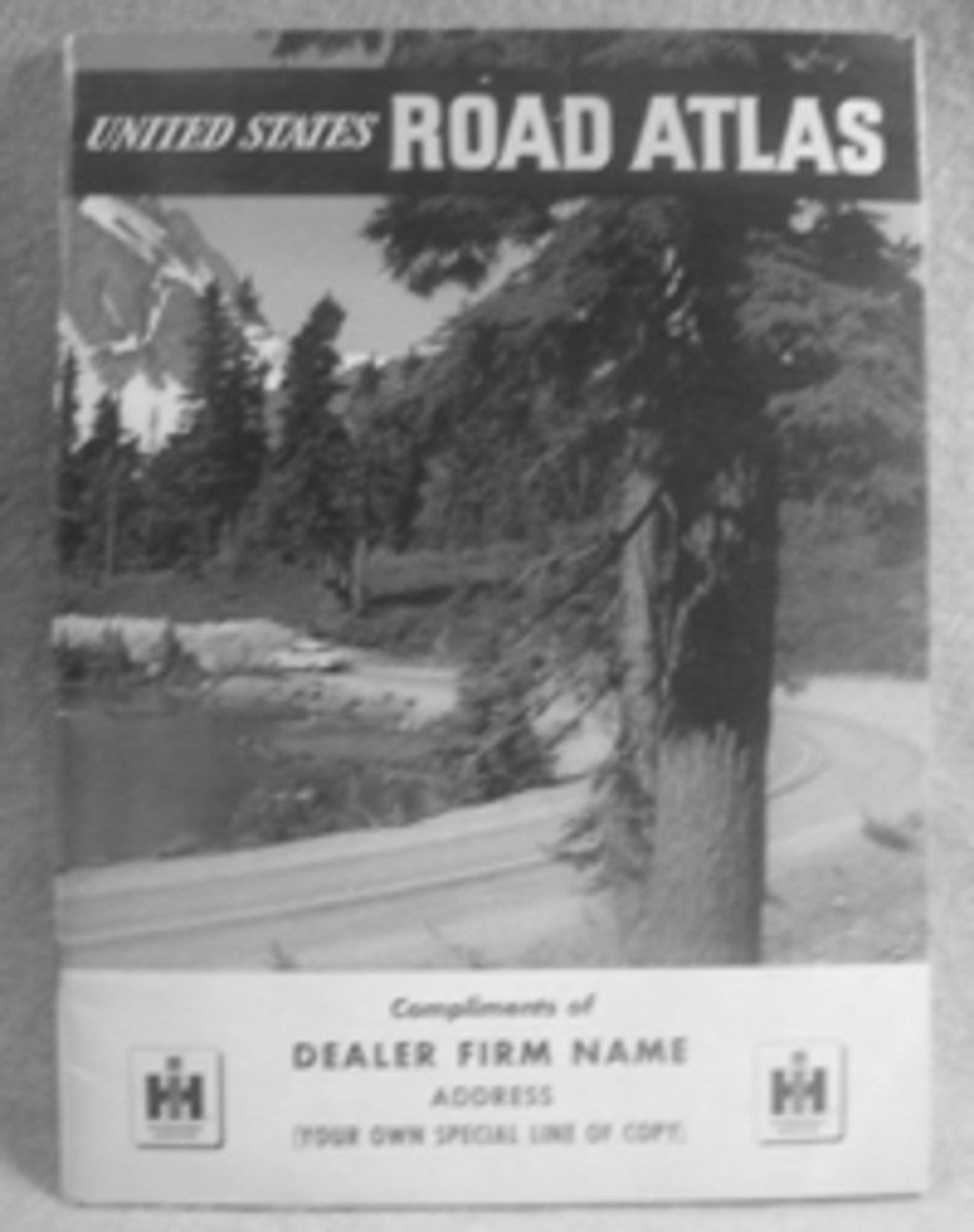 vintage road atlas. 2