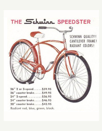 the schwinn cruiser. 2