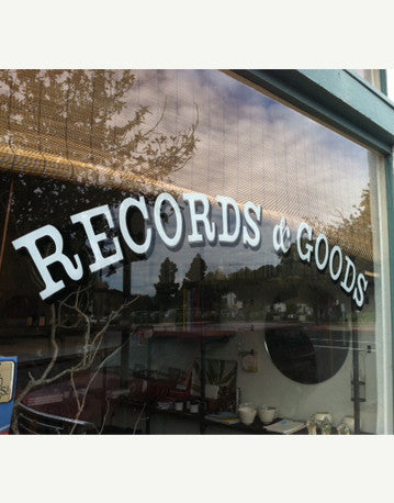 the record store. 3