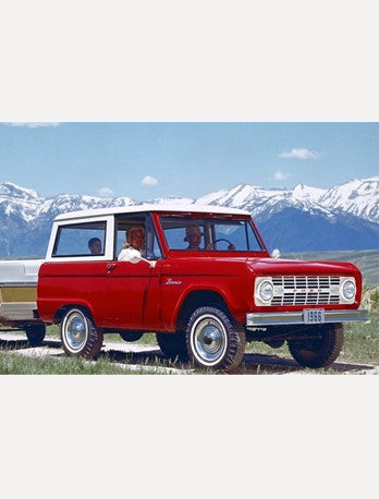 early ford bronco. 2