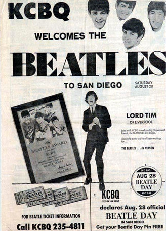 KCBQ beatle day. 1