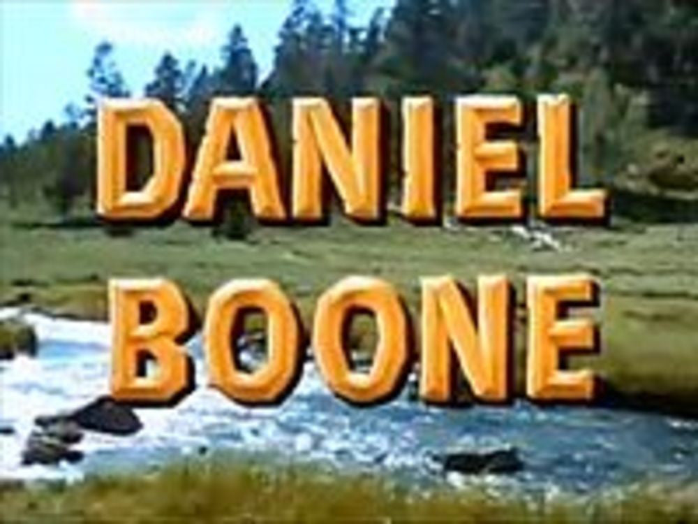 daniel boone was a man. 2