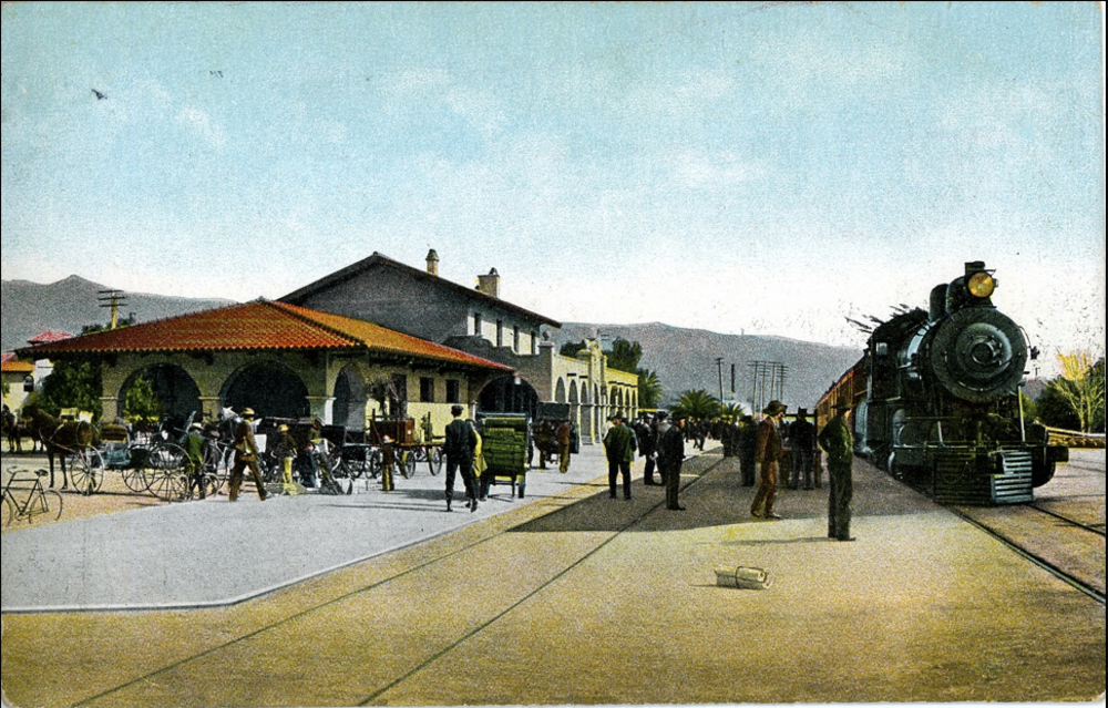 vintage santa barbara postcards. 1