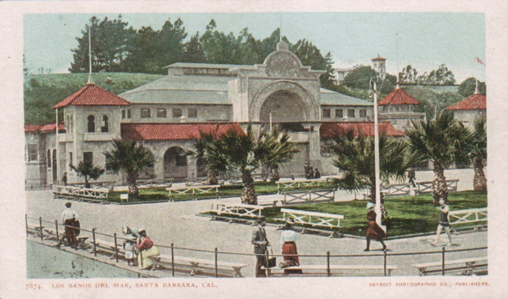 vintage santa barbara postcards. 4
