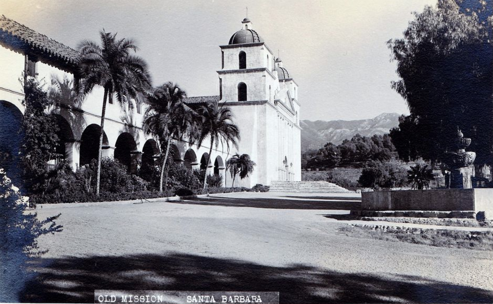 vintage santa barbara postcards. 5