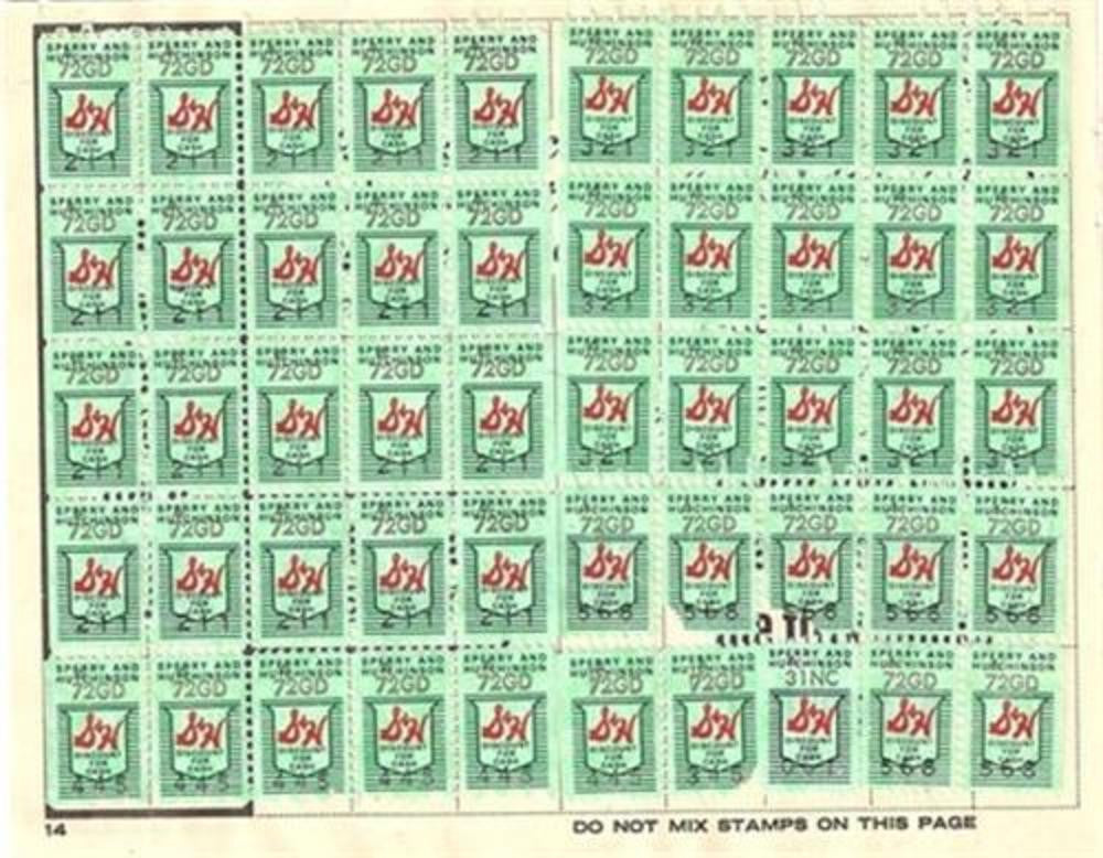 S&H Green Stamps. 2