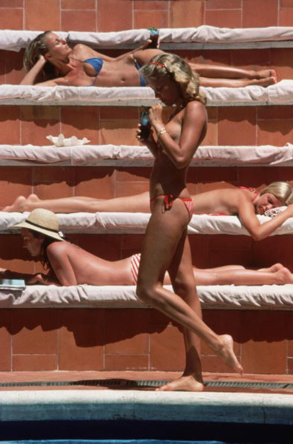 slim aarons poolside. 5