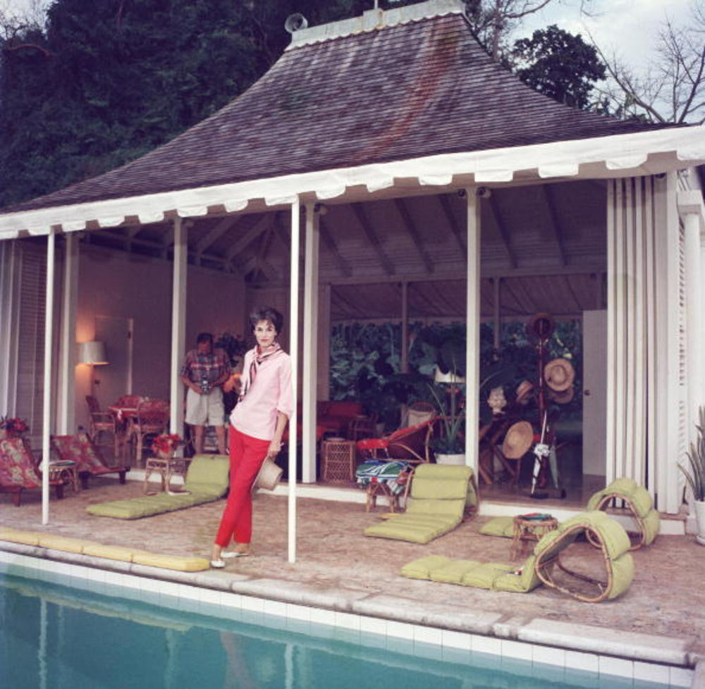 slim aarons poolside. 6