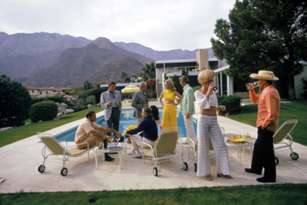 slim aarons poolside. 1