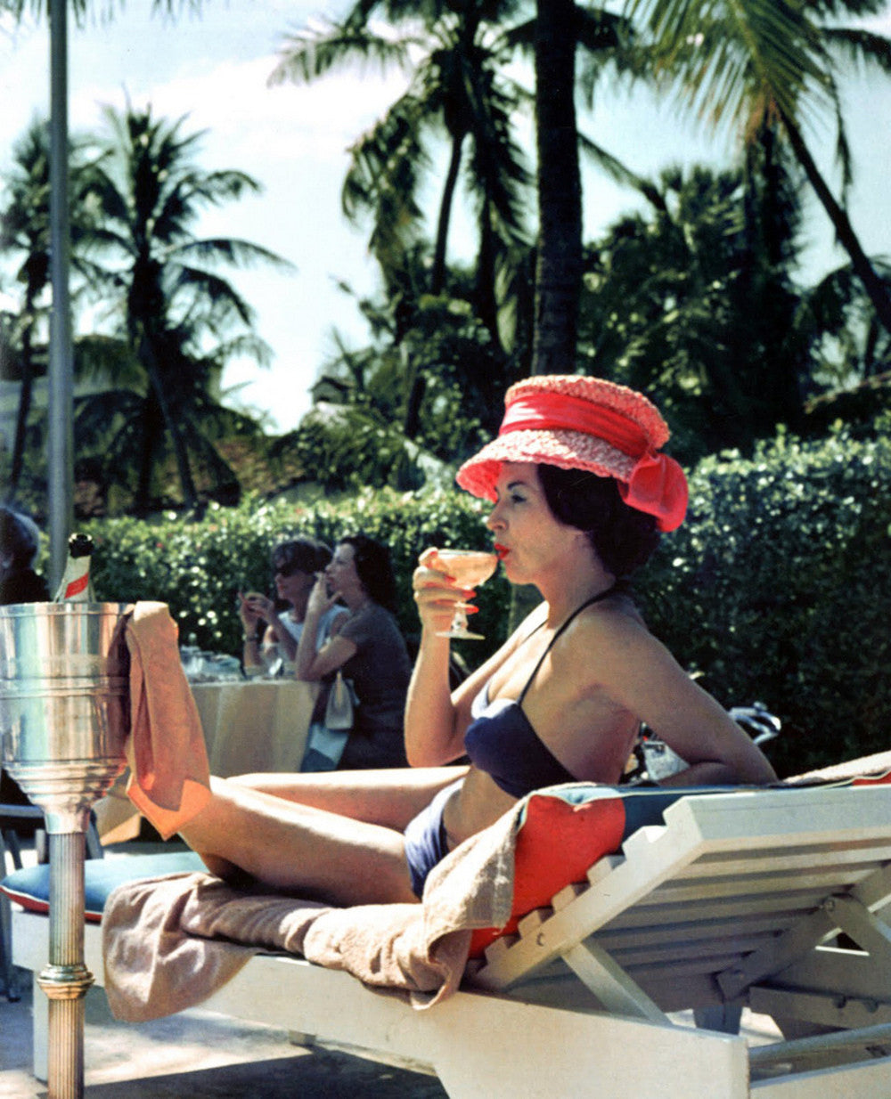 slim aarons poolside. 4