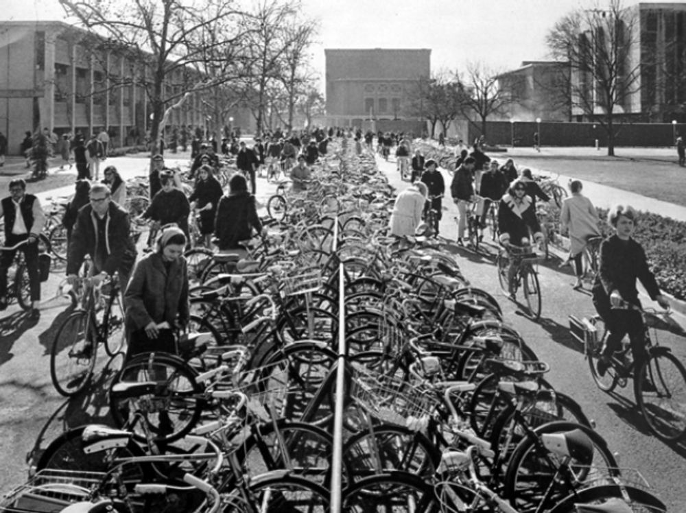 the first bike lanes. 2