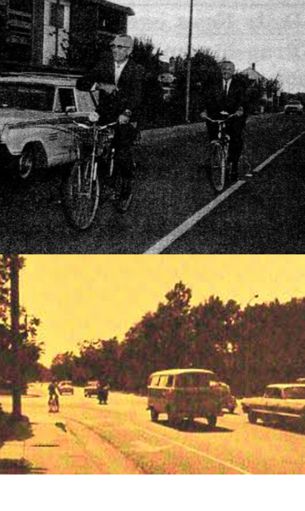 the first bike lanes. 3