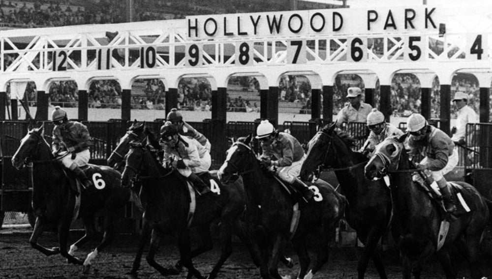 happy trails to hollywood park. 1