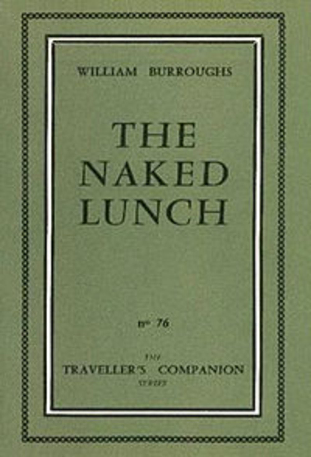 the naked lunch. 1