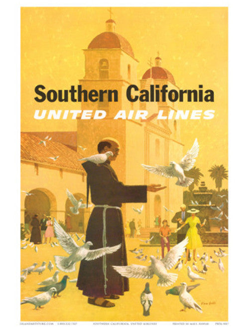 stan-galli-united-airlines-southern-california-spanish-mission-1960s