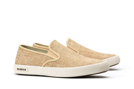 Mens - Baja Slip On Raffia - Natural