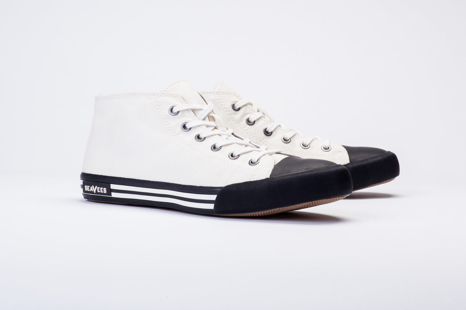 Mens - White Walls Mid-Cut Sneaker - Oyster