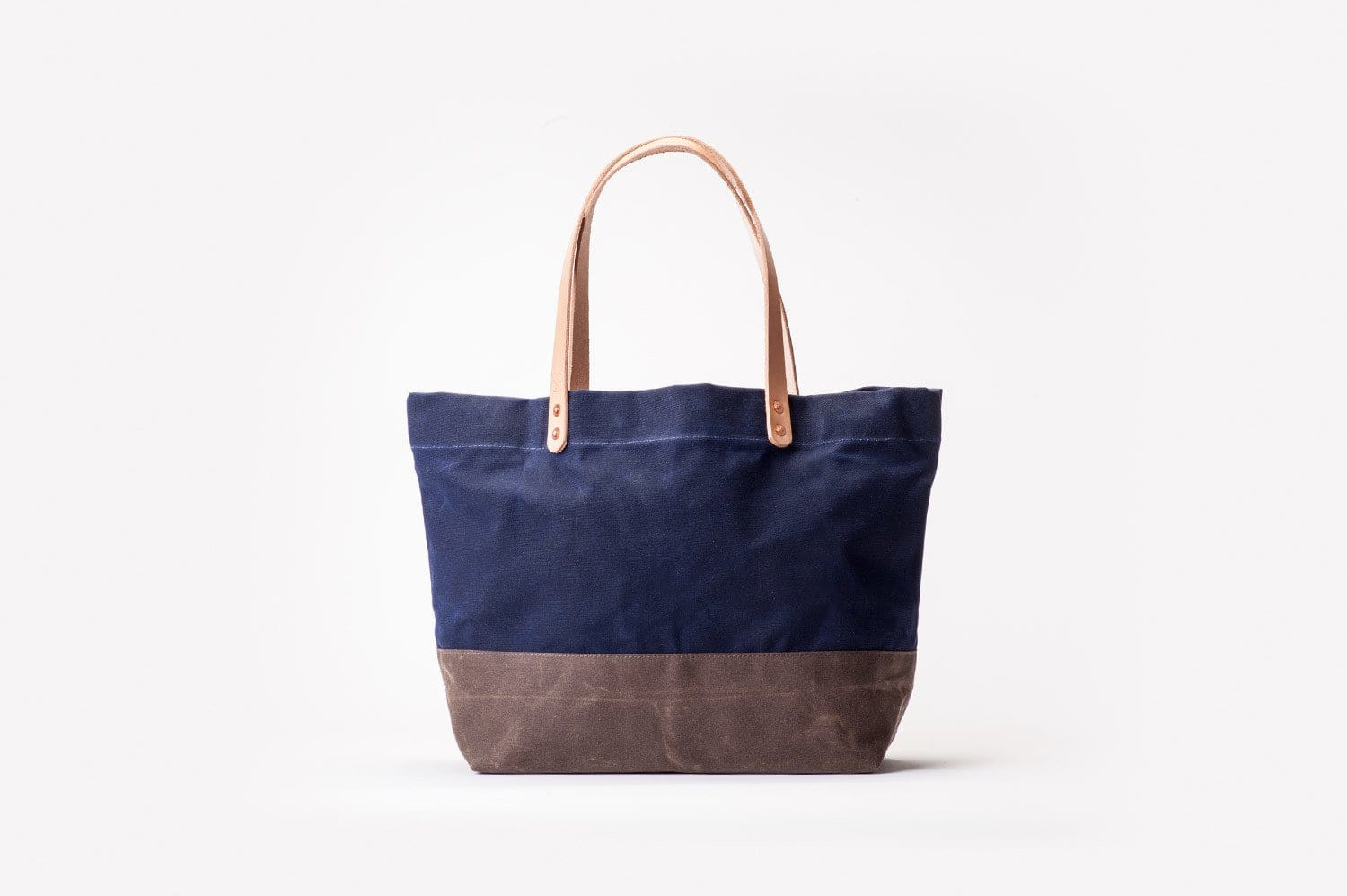 Waxed Canvas Supply Bag - Navy