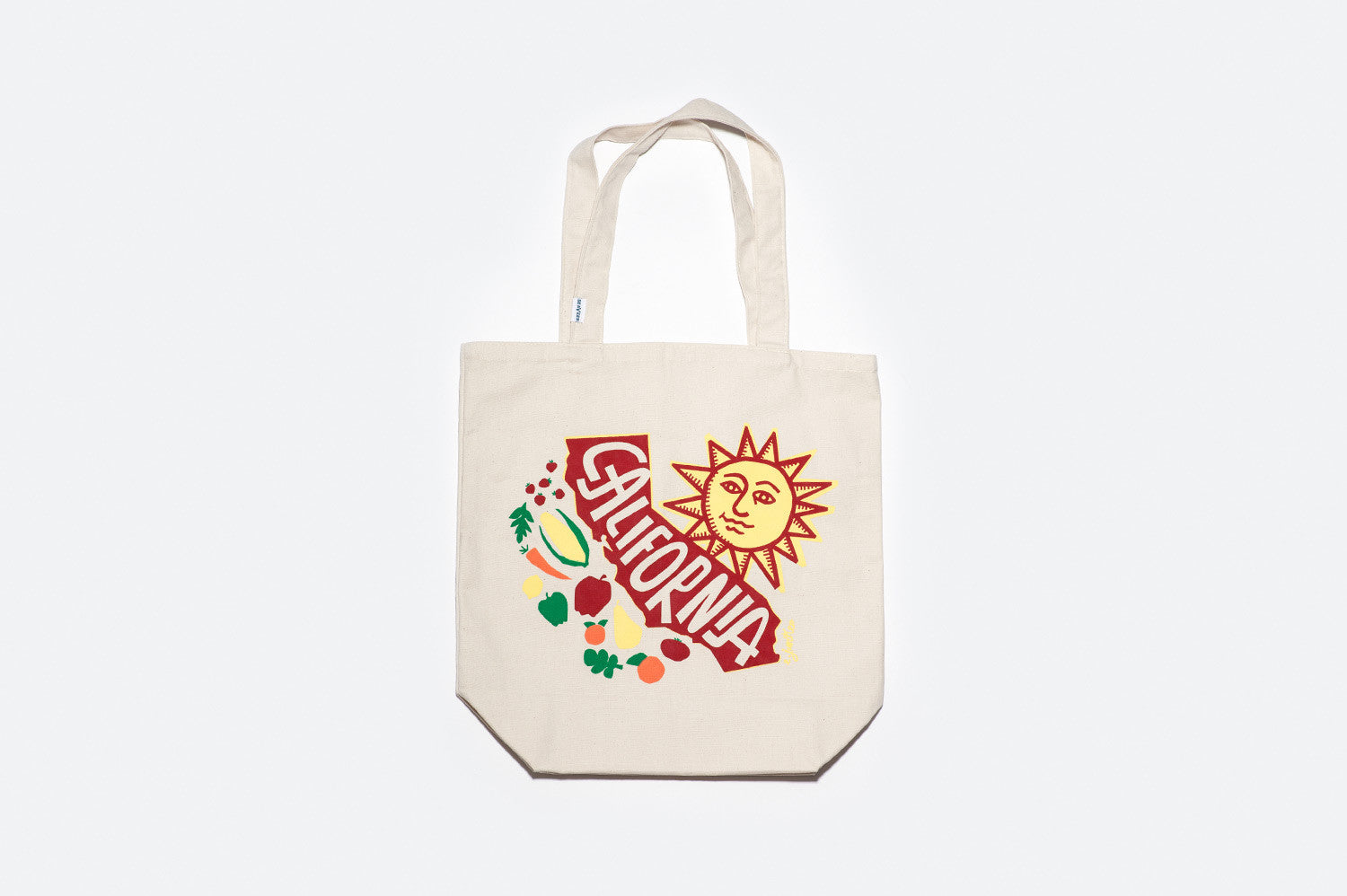 California Farmers Market Bag - Natural
