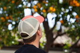 California Trucker Hat - Orange