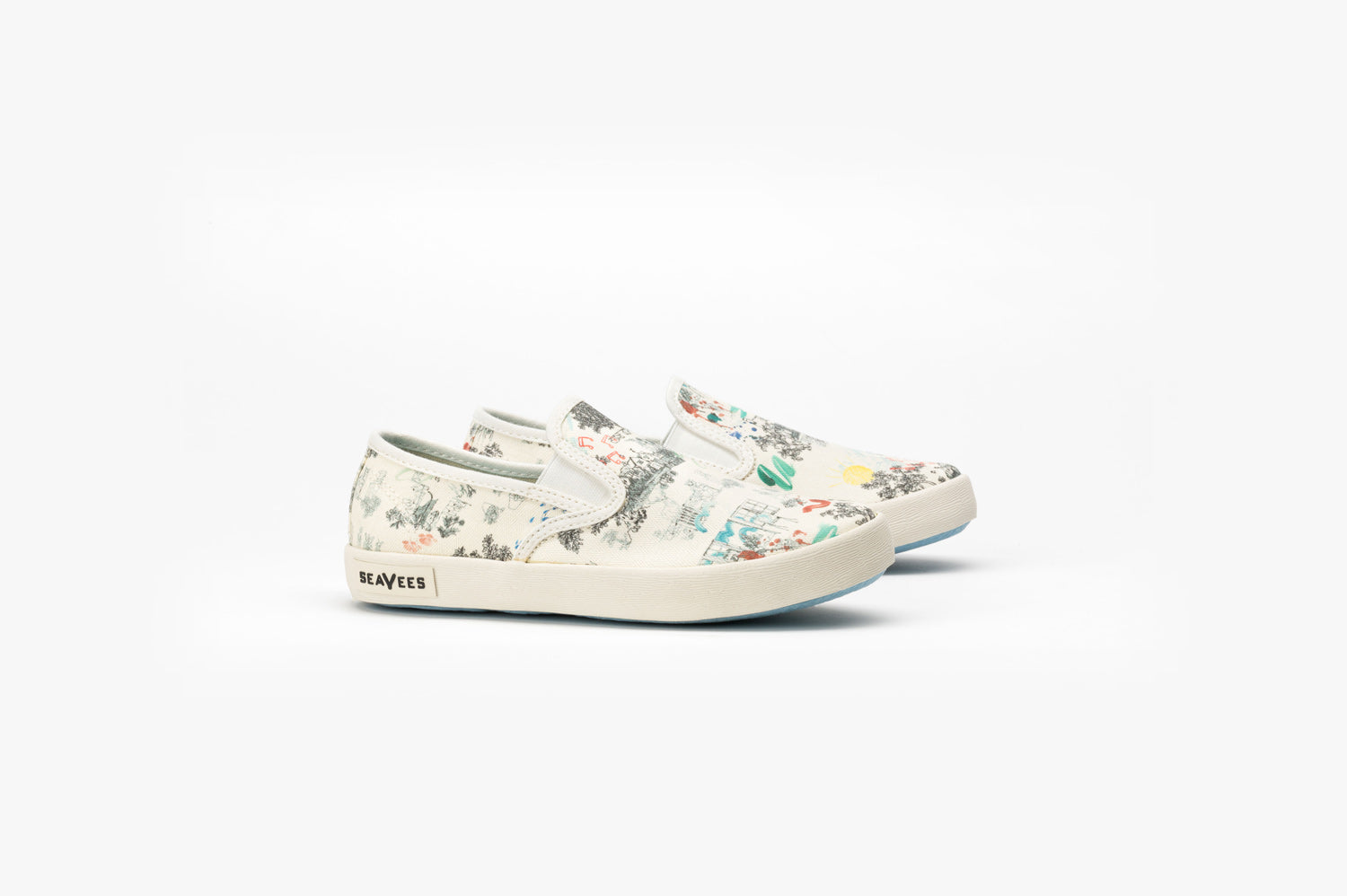 Big Kids - Baja Slip On Peter Rabbit - White