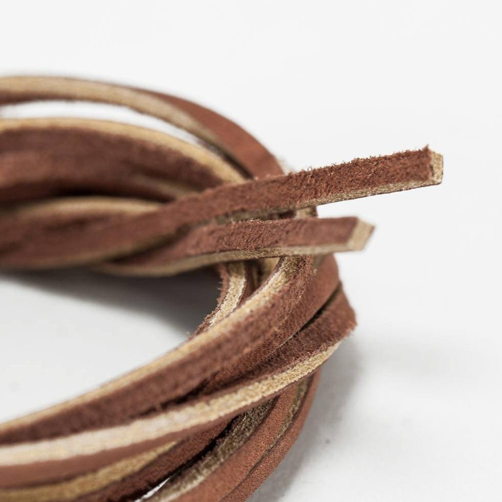 Leather Laces - Brown Leather