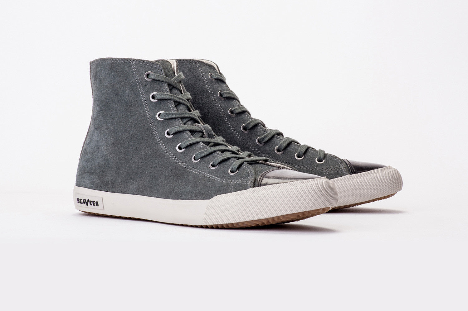 Mens - Army Issue High Sneaker Wintertide - Charcoal Grey