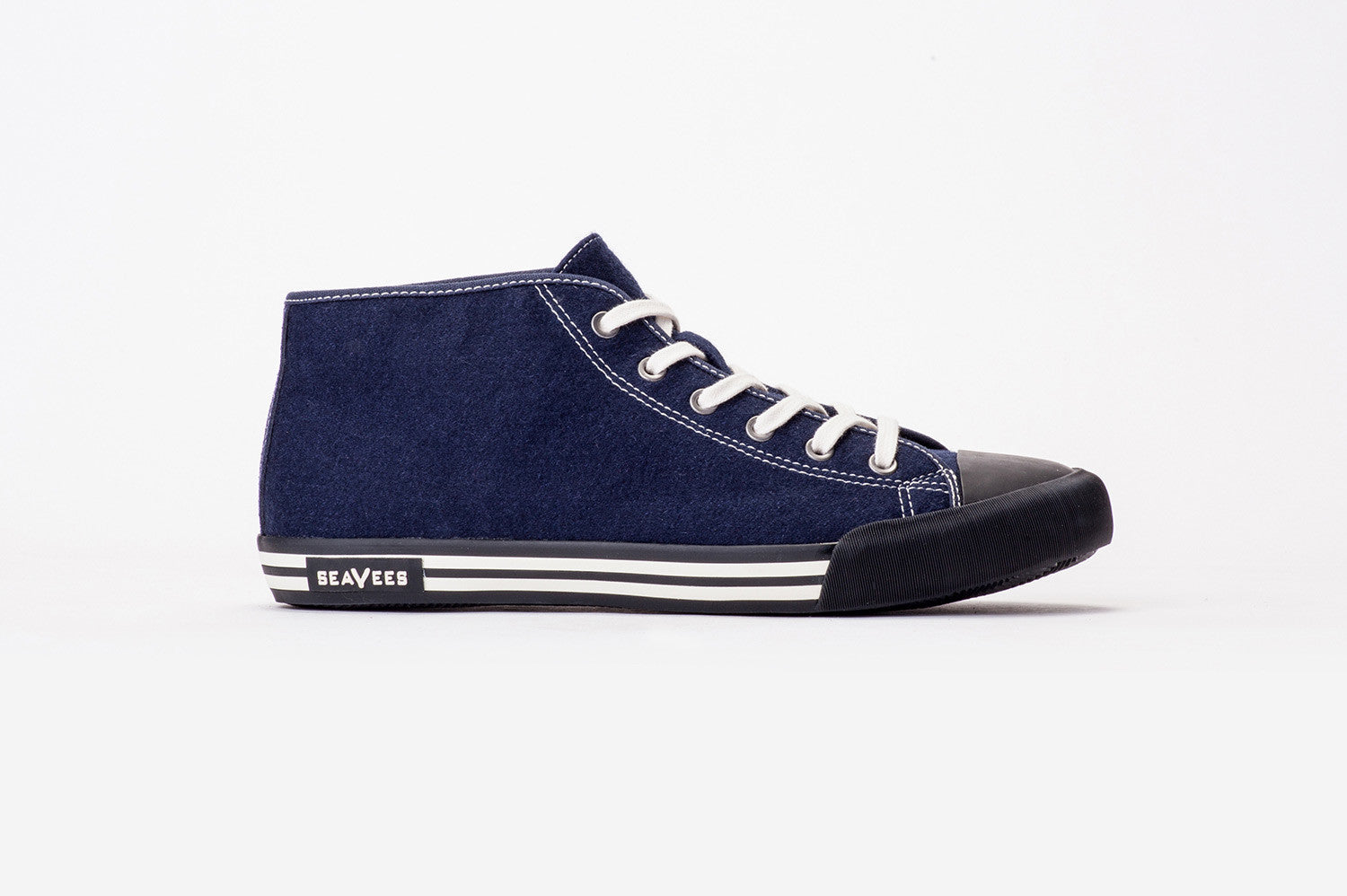 Mens - White Walls Mid-Cut Sneaker Wintertide - Deep Navy