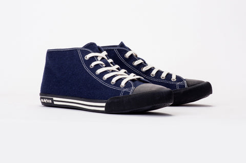 Mens - White Walls Mid-Cut Sneaker Wintertide