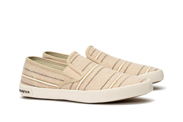 Mens - Baja Slip On Raffia Stripe