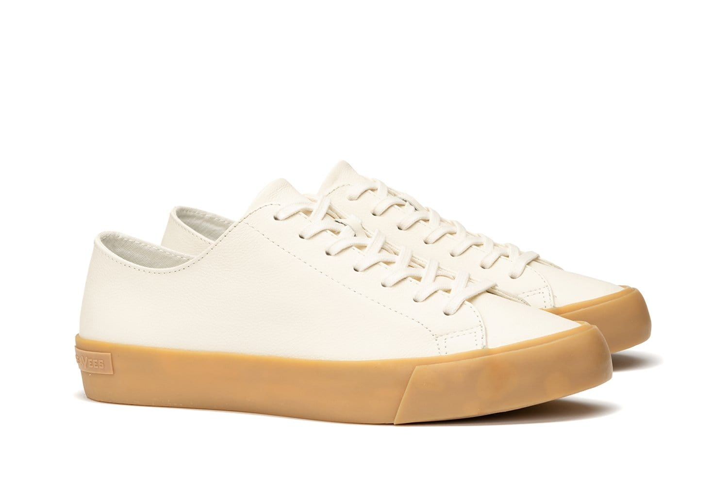White Leather Wilder   Mens Casual