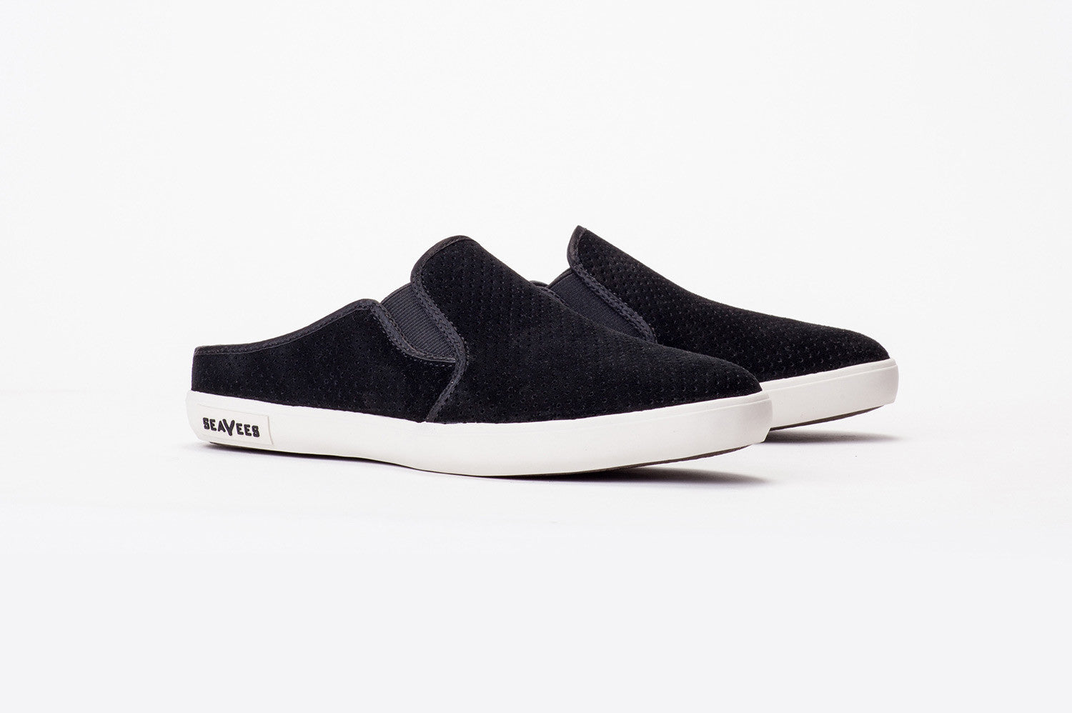 Womens - Baja Slip On Mule Varsity - Black