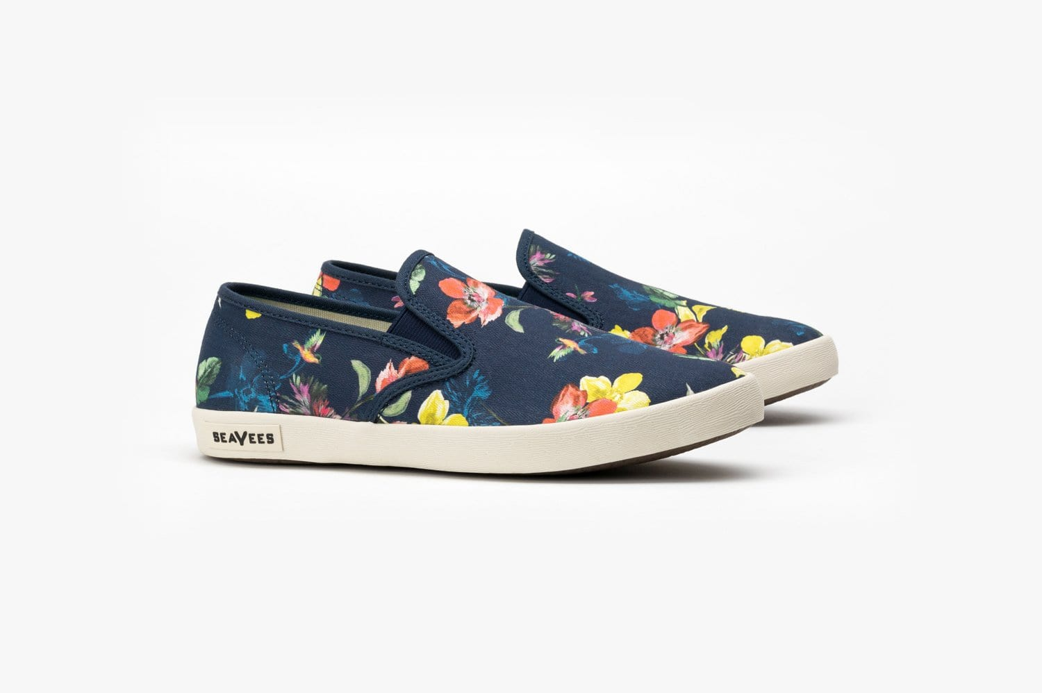 Womens - Baja Slip On Trina Turk - Navy Chrysanthemum