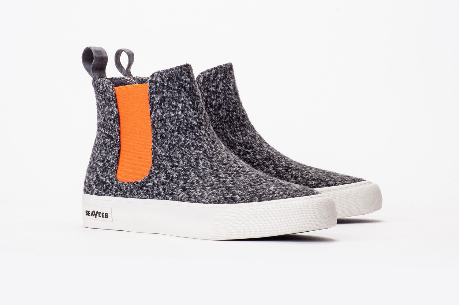Womens - Laguna Chelsea Boot - Grey/Orange