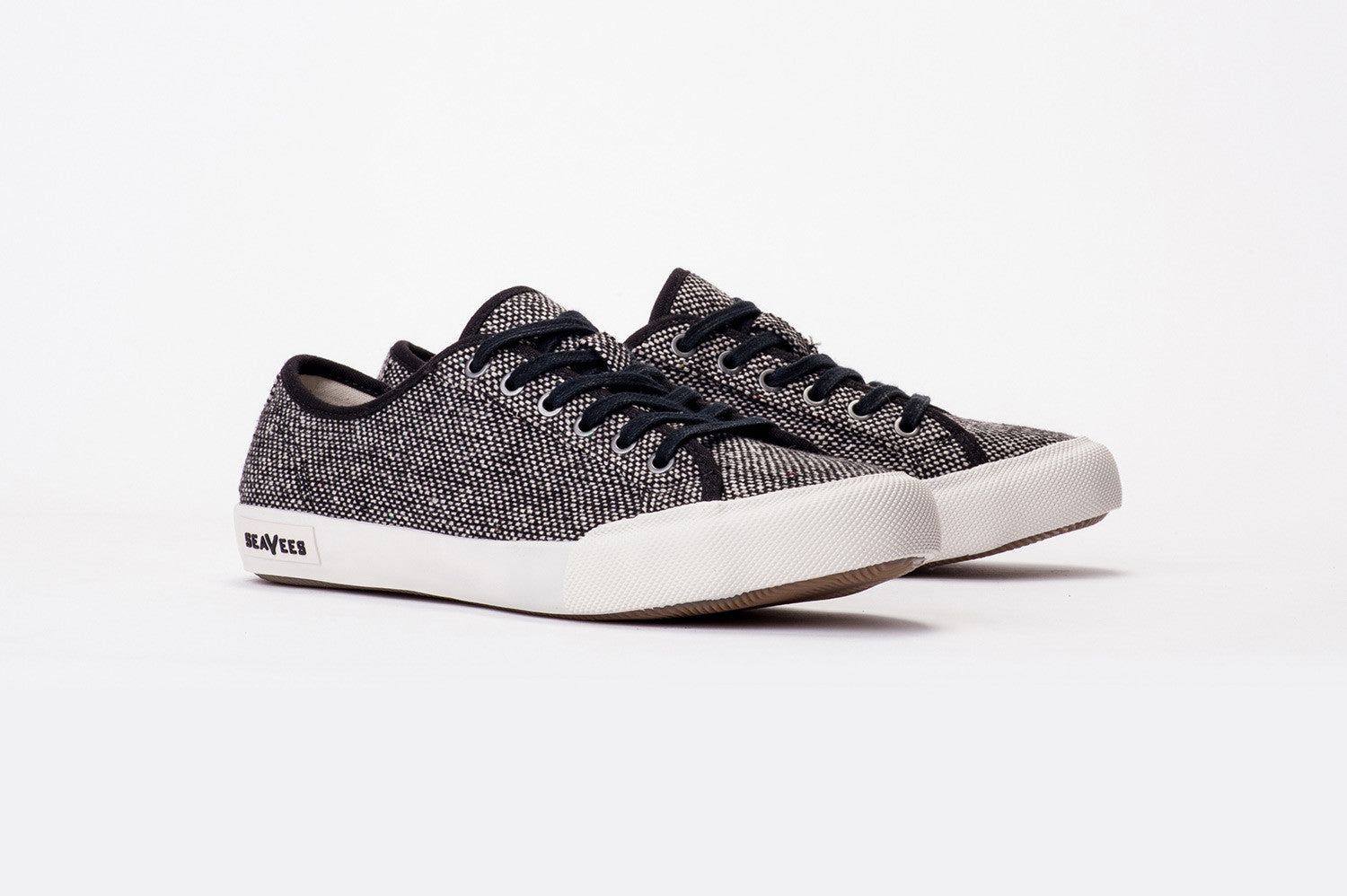 Womens - Monterey Sneaker Tweed - Black/White