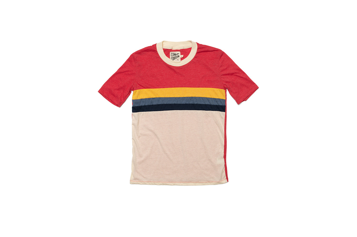 Womens Sunset Tee - Red