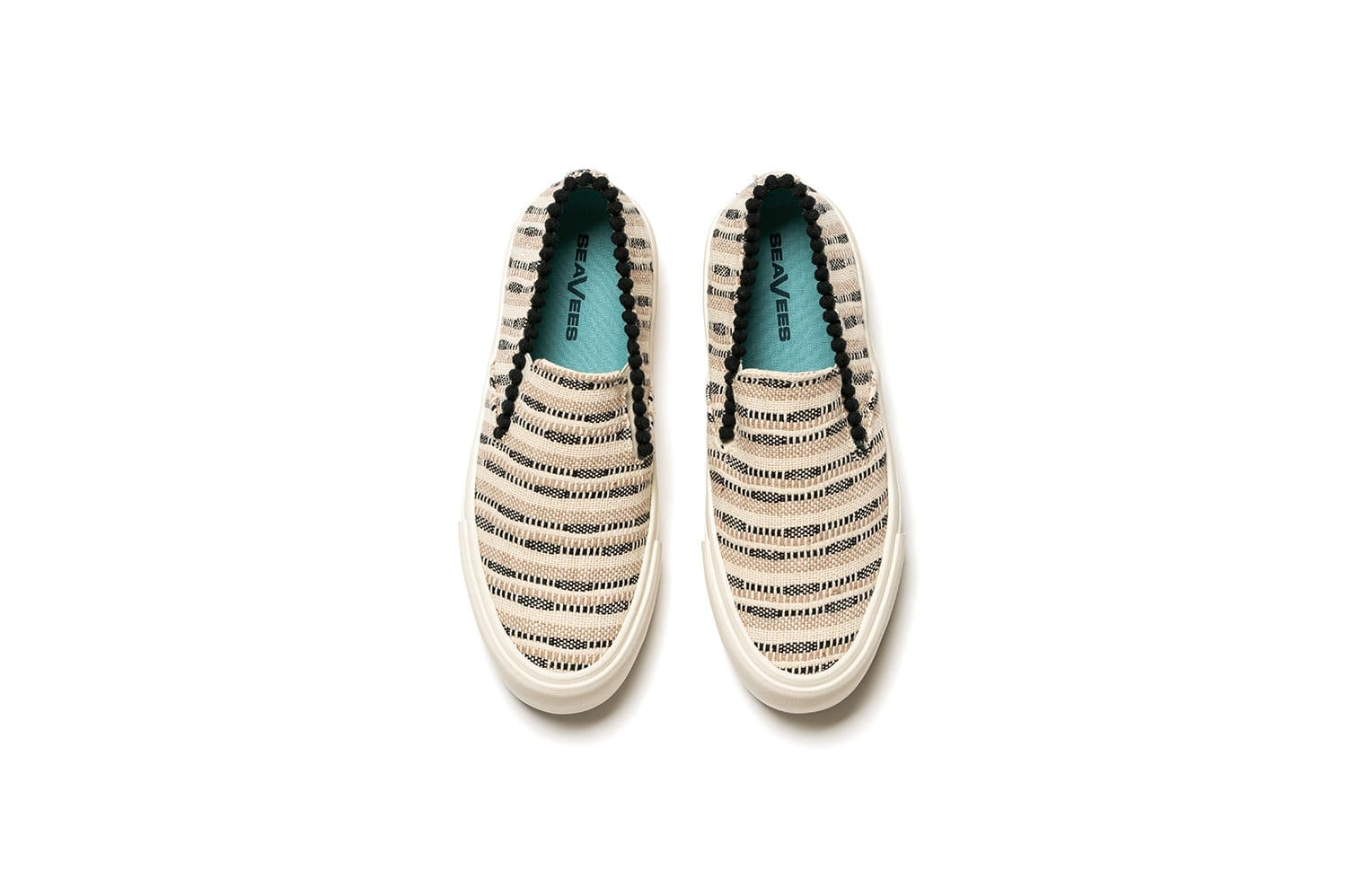 Womens - Baja Slip On Platform Embroidery