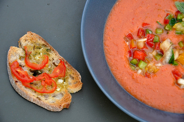 Take a Break from the Heat with Spanish Gazpacho