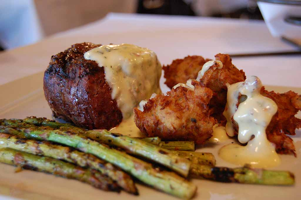Filet with French Sauce