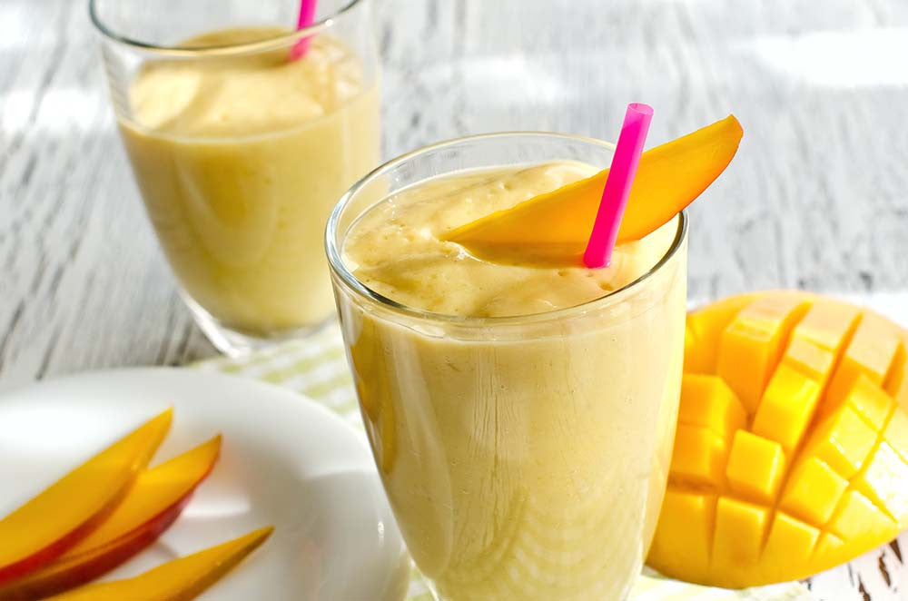 Mango Smoothie with Foco Coconut Water