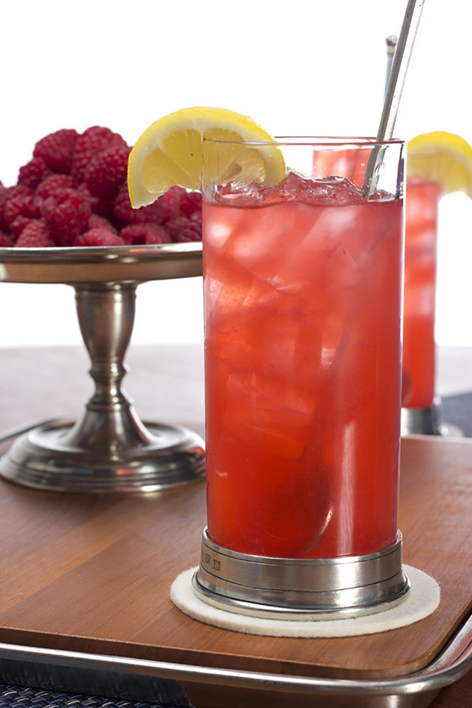 Raspberry Coconut Water Cocktail