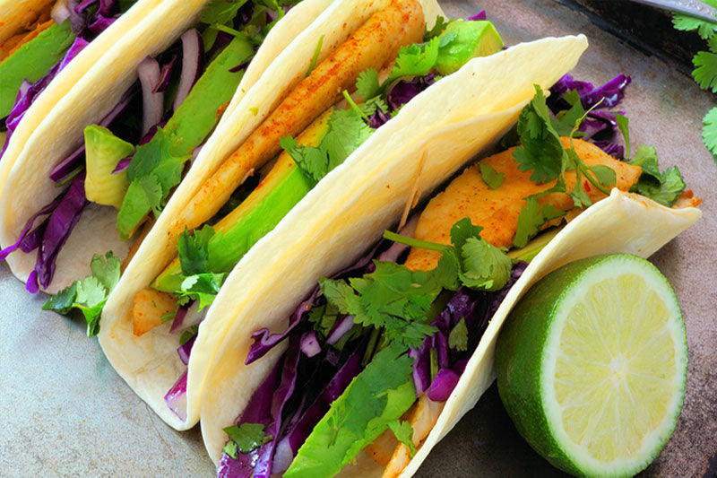 Southern Style Fish Tacos