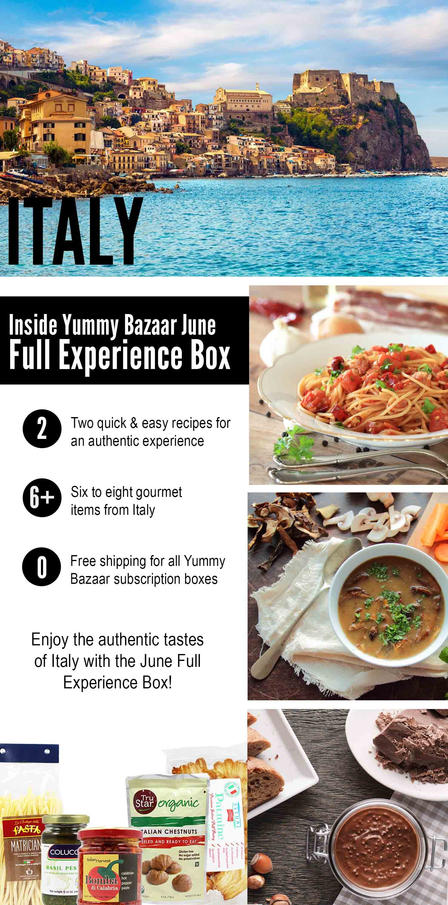 Discover June Full Experience Gourmet Box