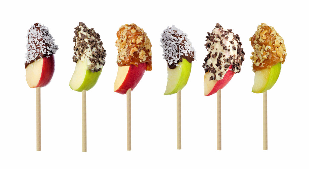 Dipped Apples on a Stick