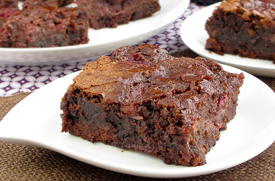Rigoni di Asiago Strawberry Brownies