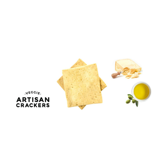 Paul and Pippa Veggie Crackers with Parmesan Cheese, 4.5 oz (130 g)