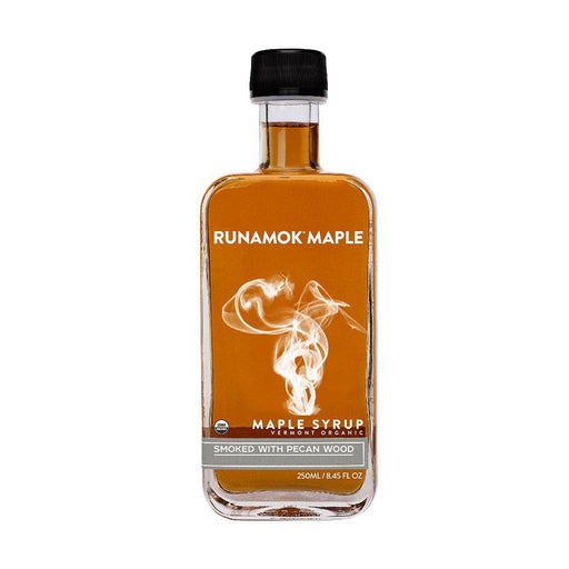 Runamok Maple Smoked with Pecan Wood Maple Syrup, 8.45 fl (250 g)