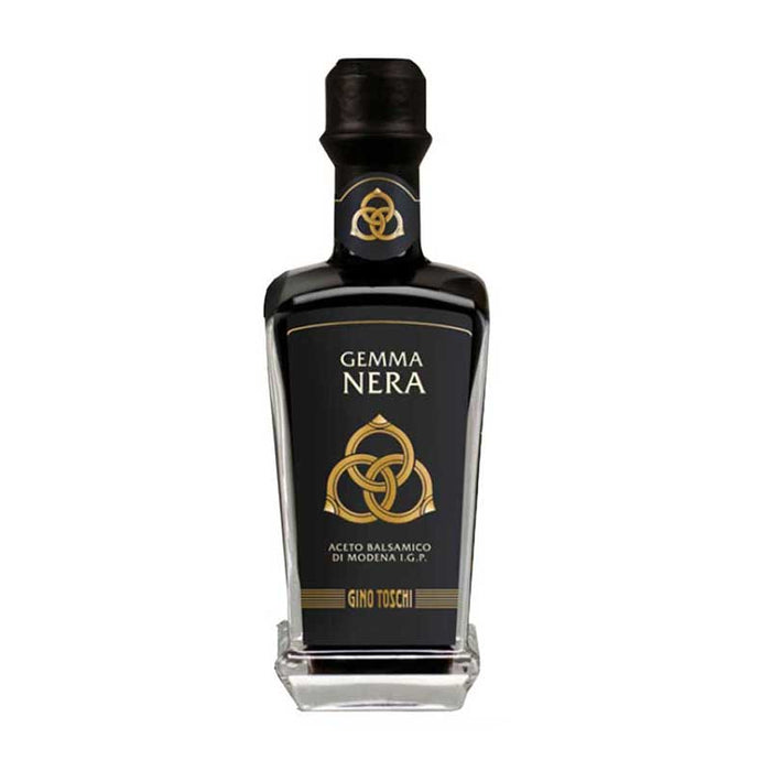 Toschi Gemma Nera Balsamic Vinegar of Modena, IGP,  8.5 fl oz (250 ml)